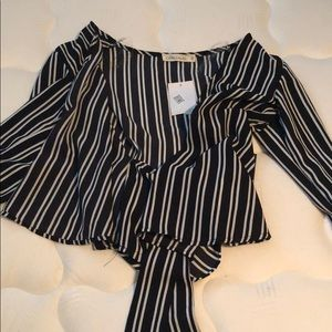 Striped blouse, brand new never worn